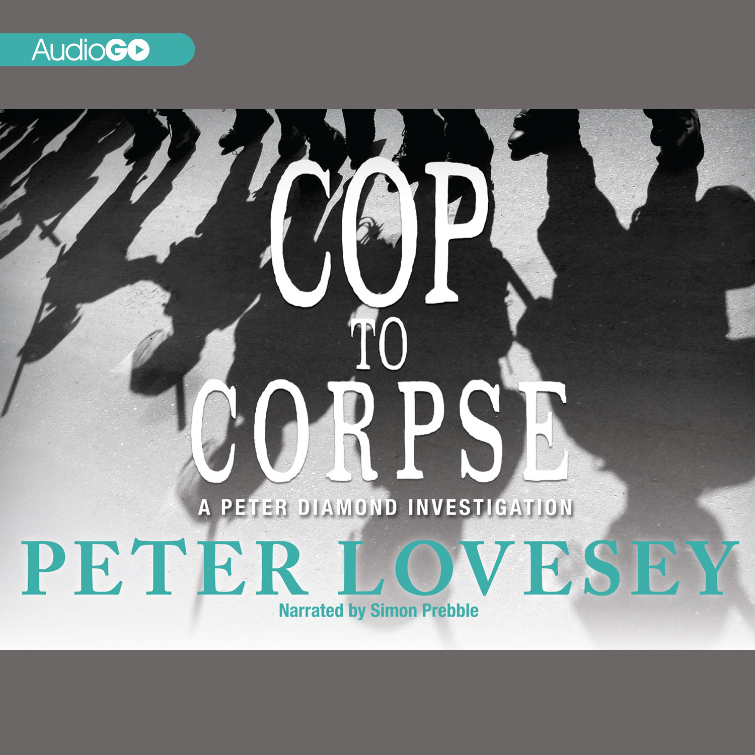 Printable Cop to Corpse: A Peter Diamond Investigation Audiobook Cover Art