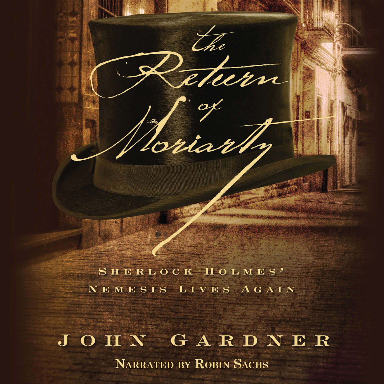 Printable The Return of Moriarty: Sherlock Holmes' Nemesis Lives Again Audiobook Cover Art