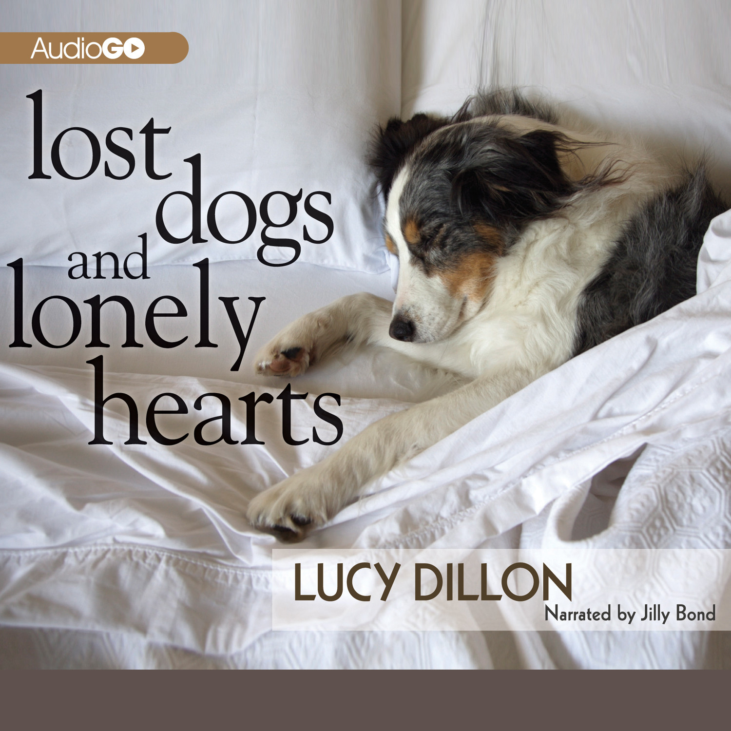 Printable Lost Dogs and Lonely Hearts Audiobook Cover Art