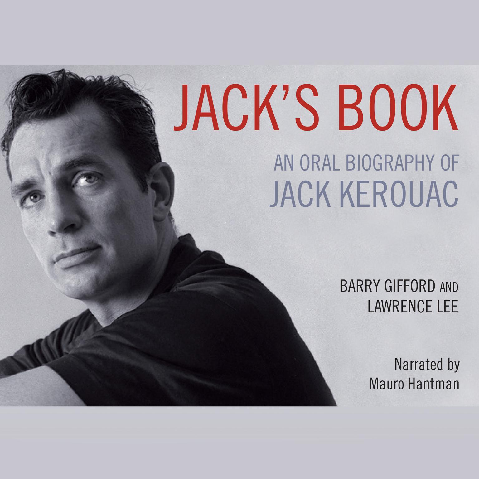 Printable Jack's Book: An Oral Biography of Jack Kerouac Audiobook Cover Art