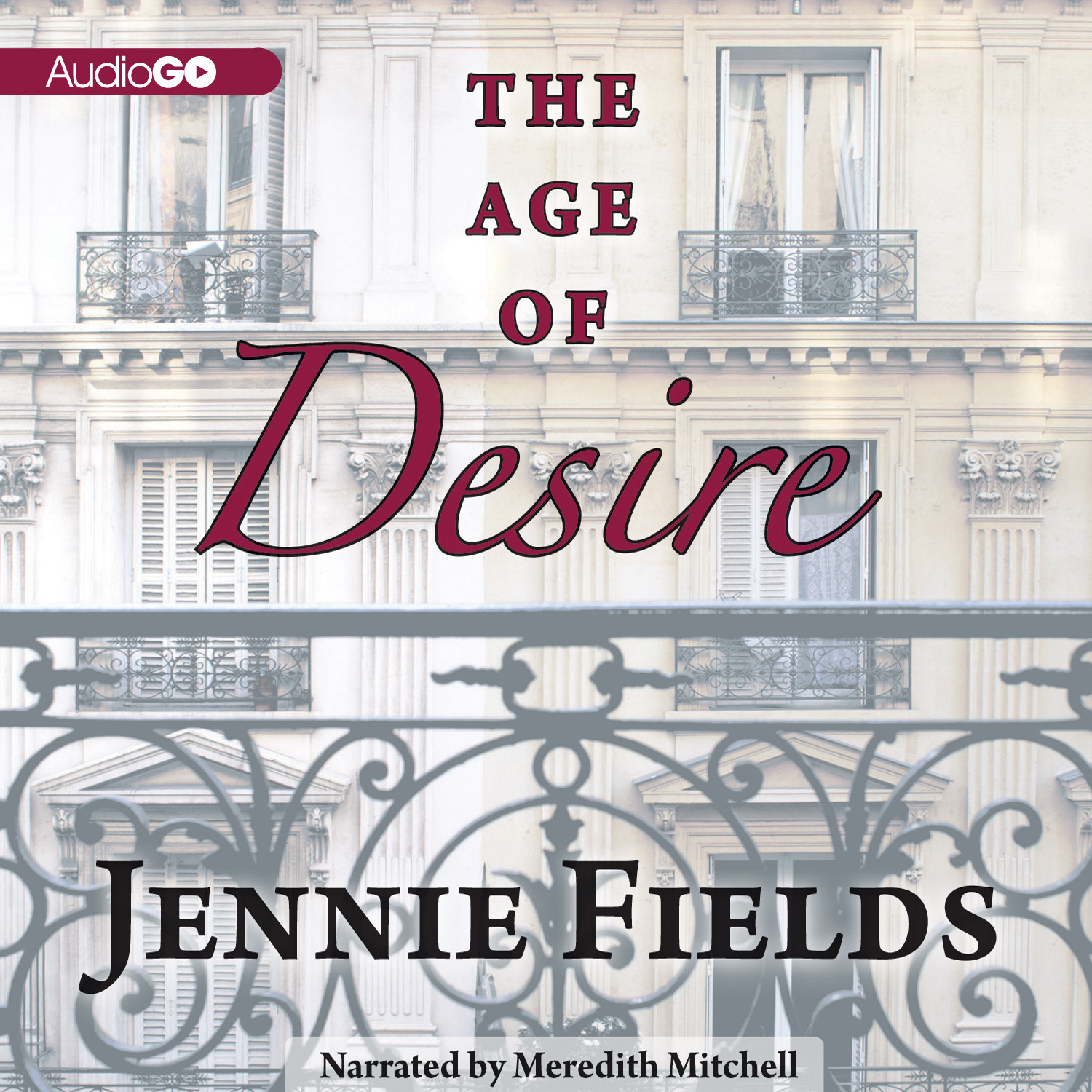 Printable The Age of Desire Audiobook Cover Art
