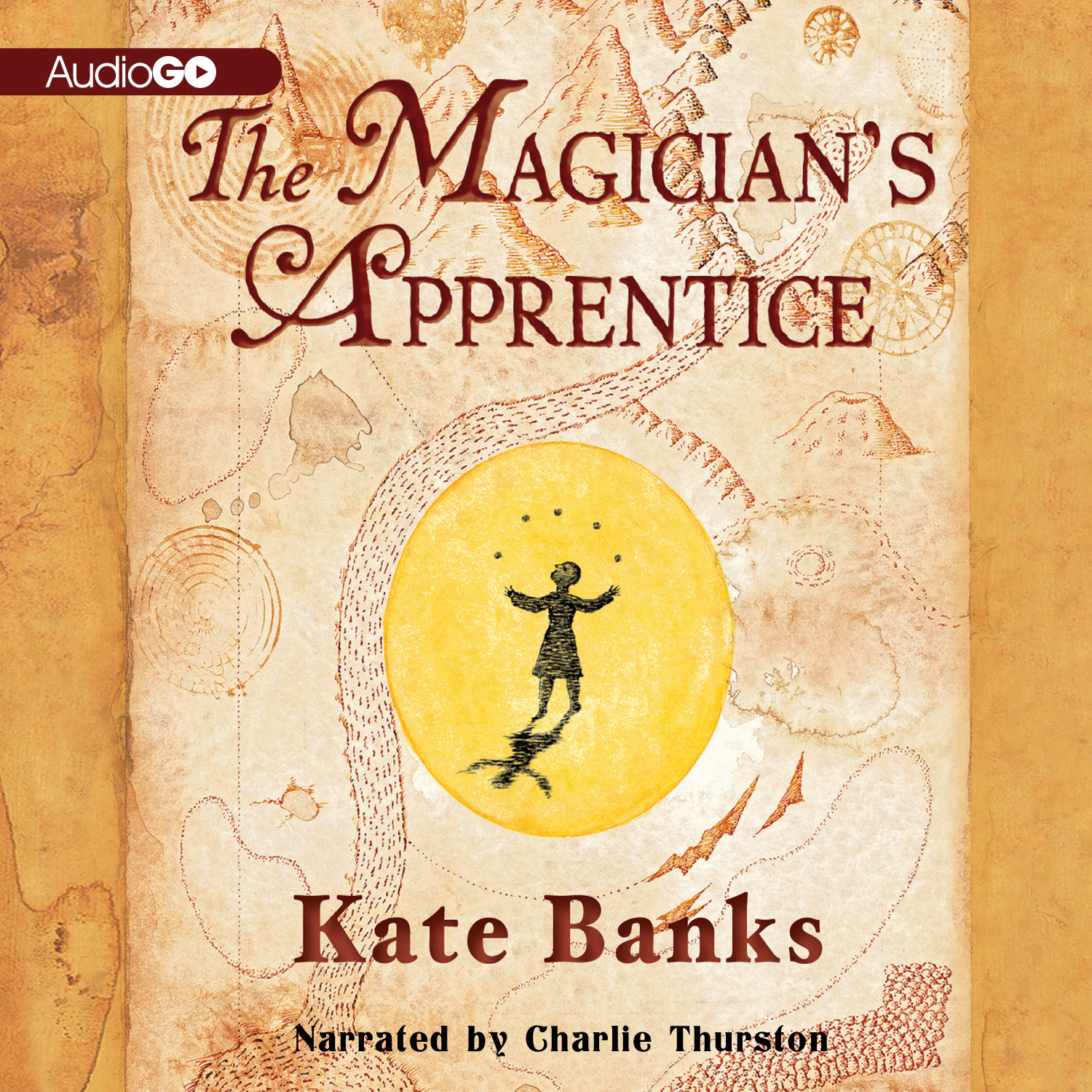Printable The Magician's Apprentice Audiobook Cover Art