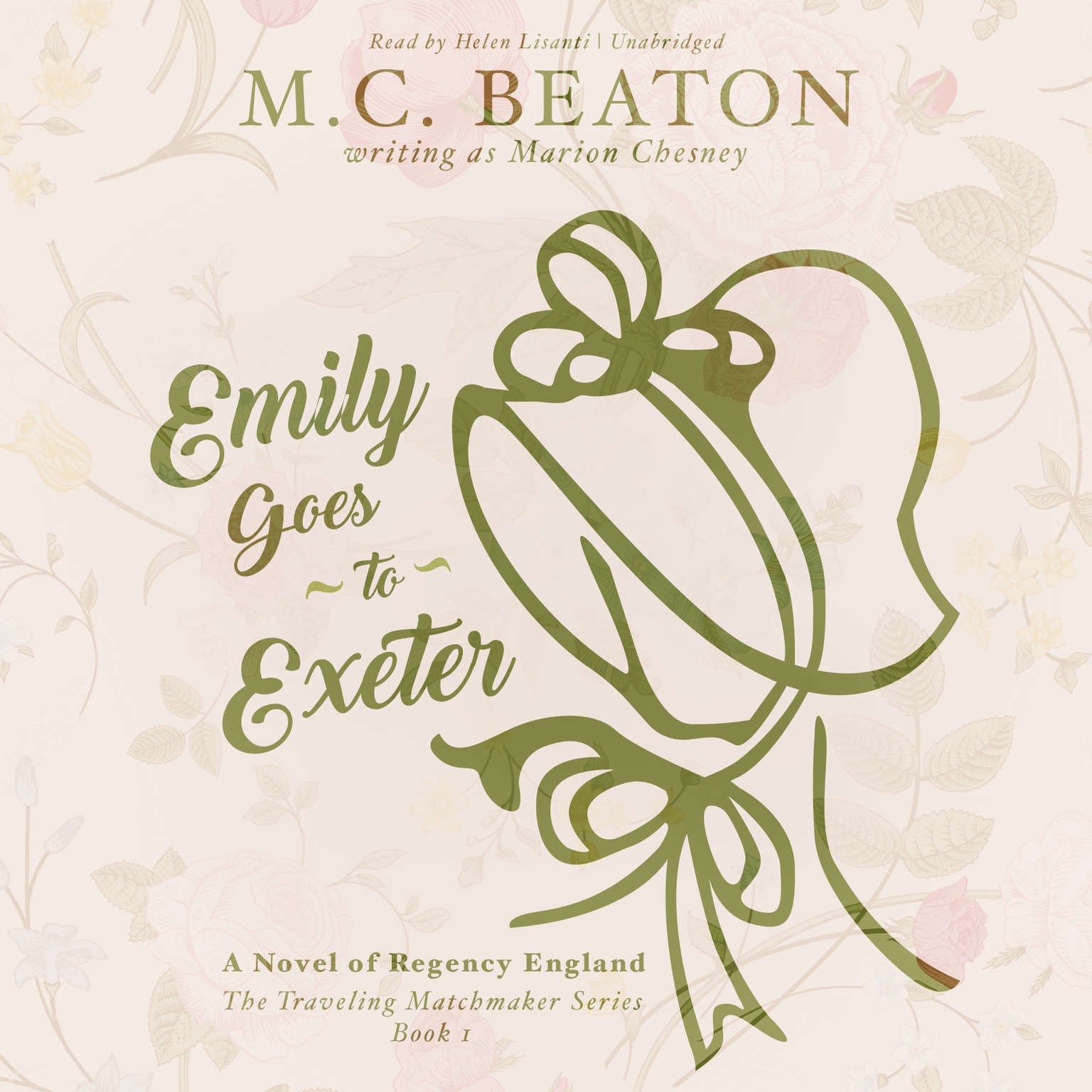 Printable Emily Goes to Exeter: A Novel of Regency England Audiobook Cover Art