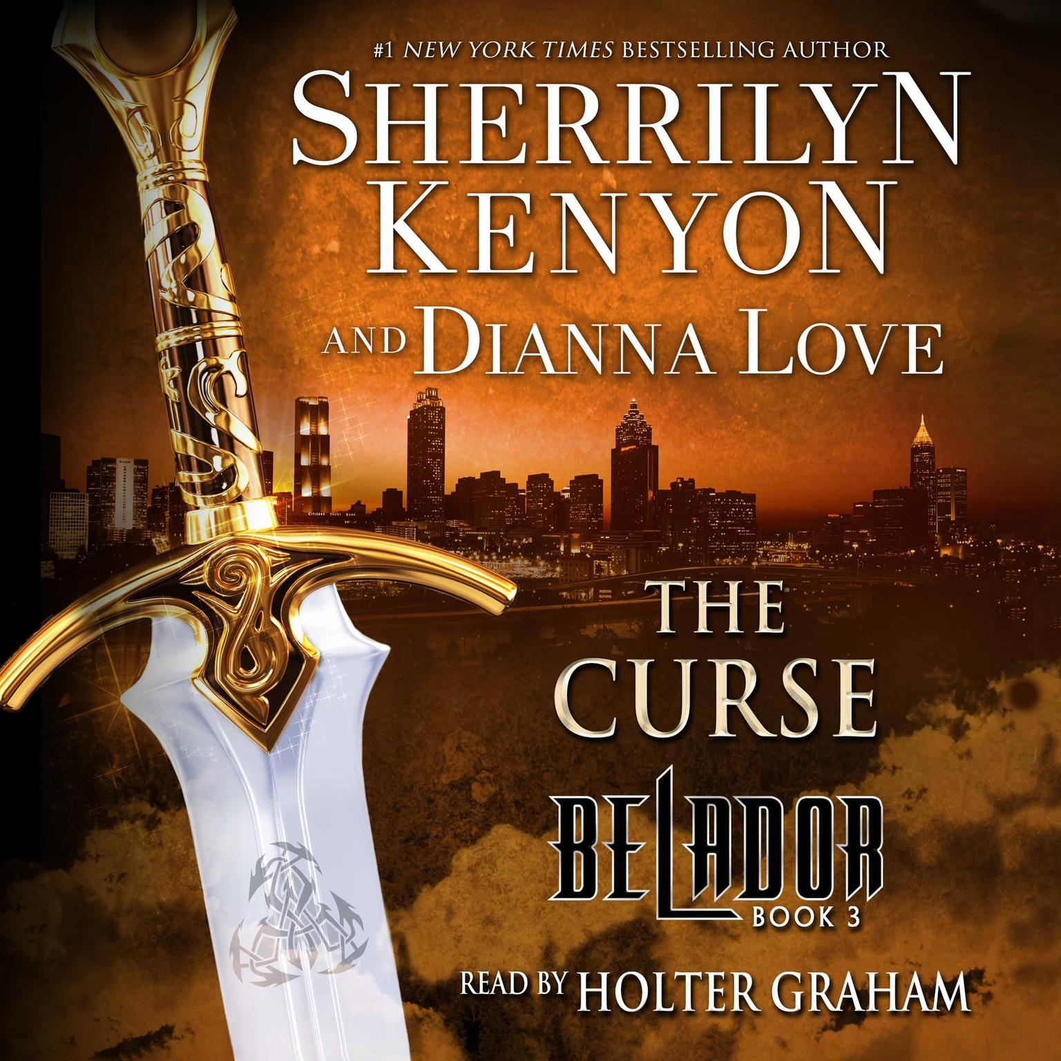 Printable The Curse: Book 3 in the Belador Series Audiobook Cover Art