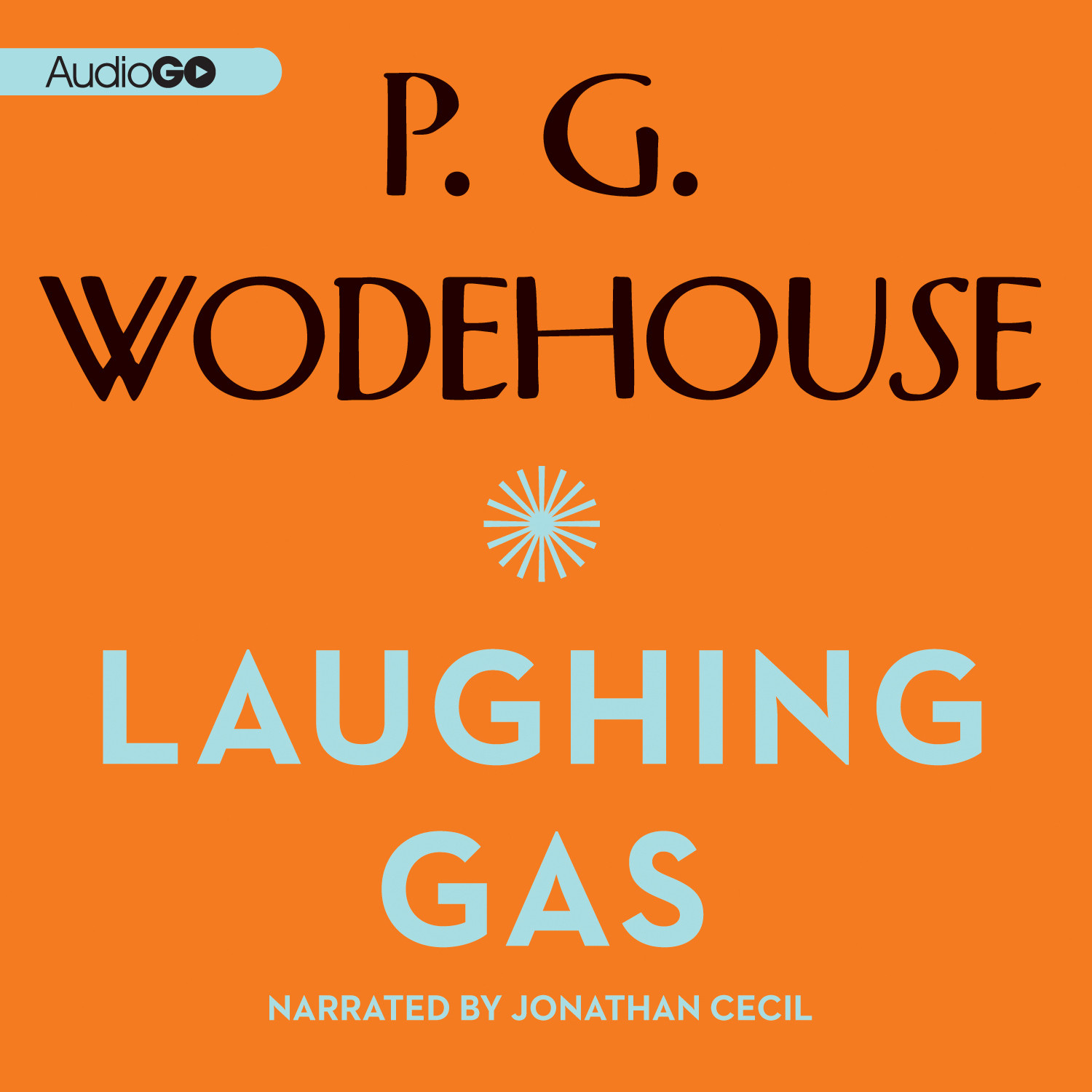 Printable Laughing Gas Audiobook Cover Art
