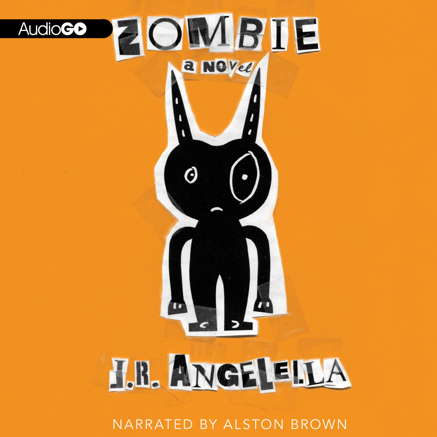 Printable Zombie Audiobook Cover Art