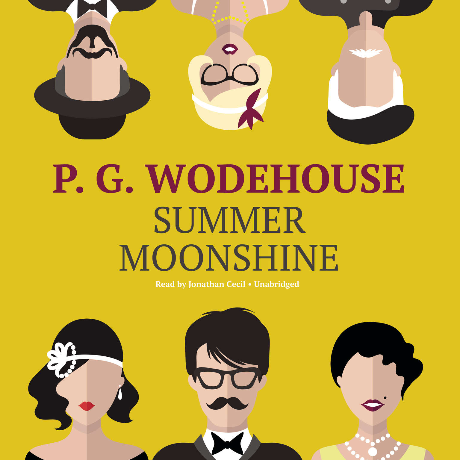 Printable Summer Moonshine Audiobook Cover Art
