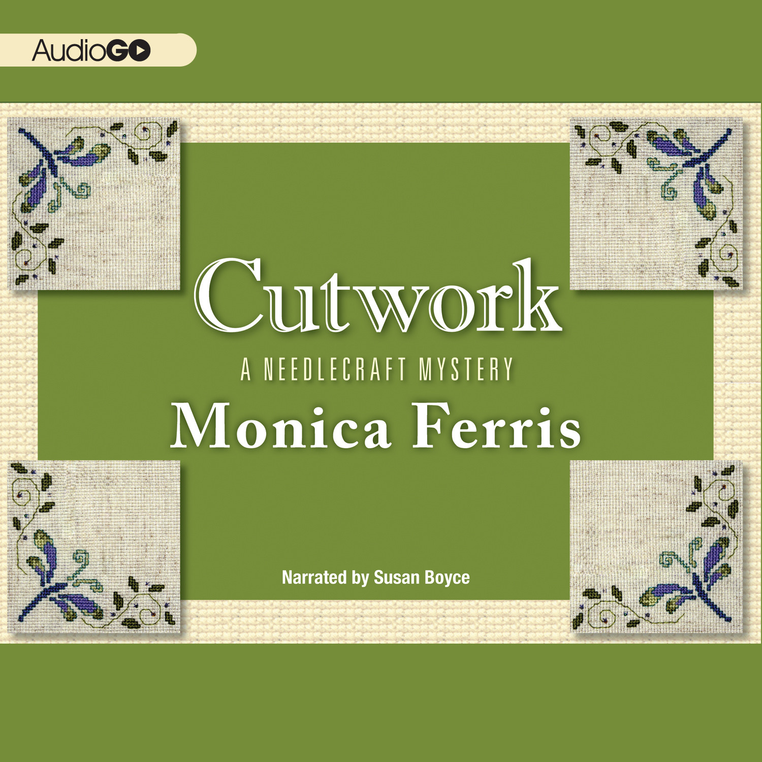 Printable Cutwork Audiobook Cover Art