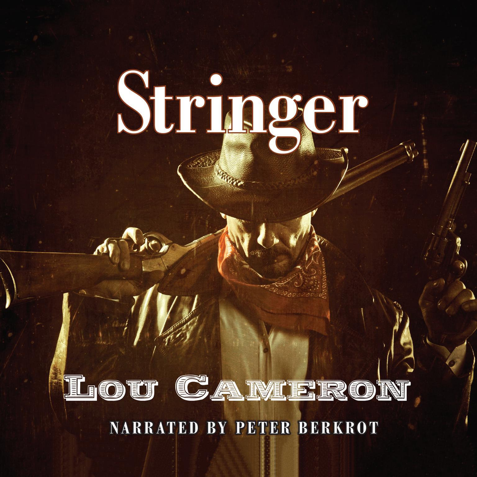 Printable Stringer Audiobook Cover Art