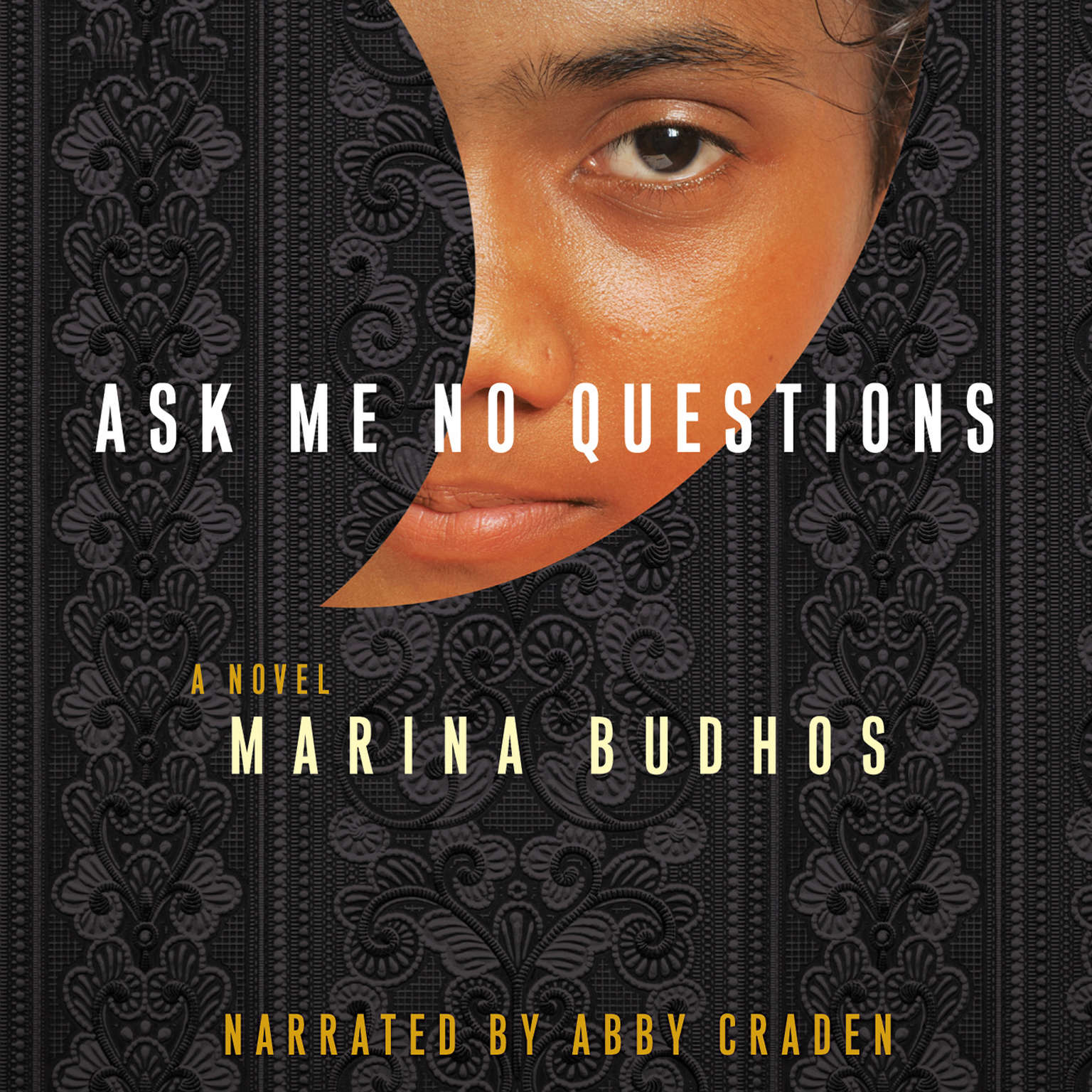 Printable Ask Me No Questions Audiobook Cover Art