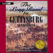 The Long Road to Gettysburg Audiobook, by Jim Murphy