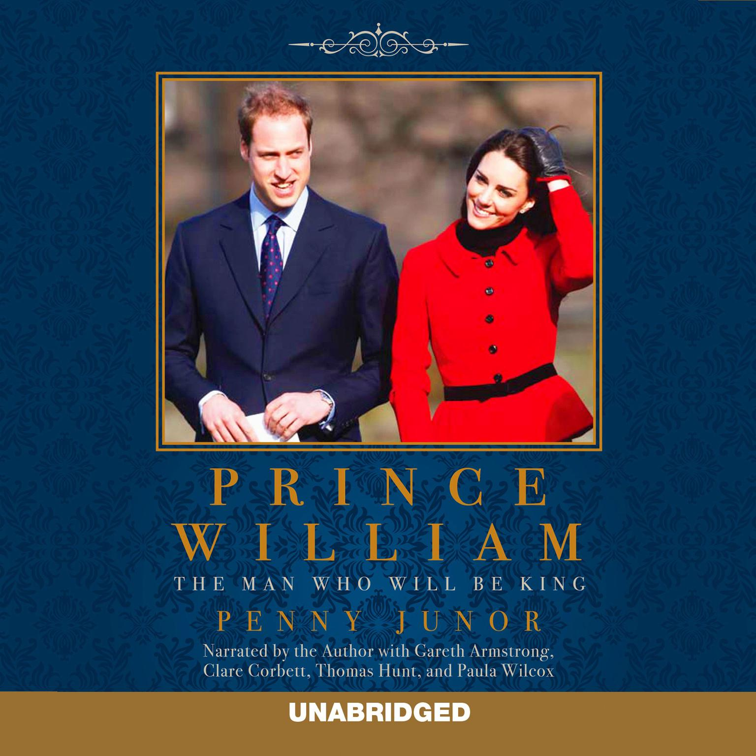 Printable Prince William: The Man Who Will Be King Audiobook Cover Art