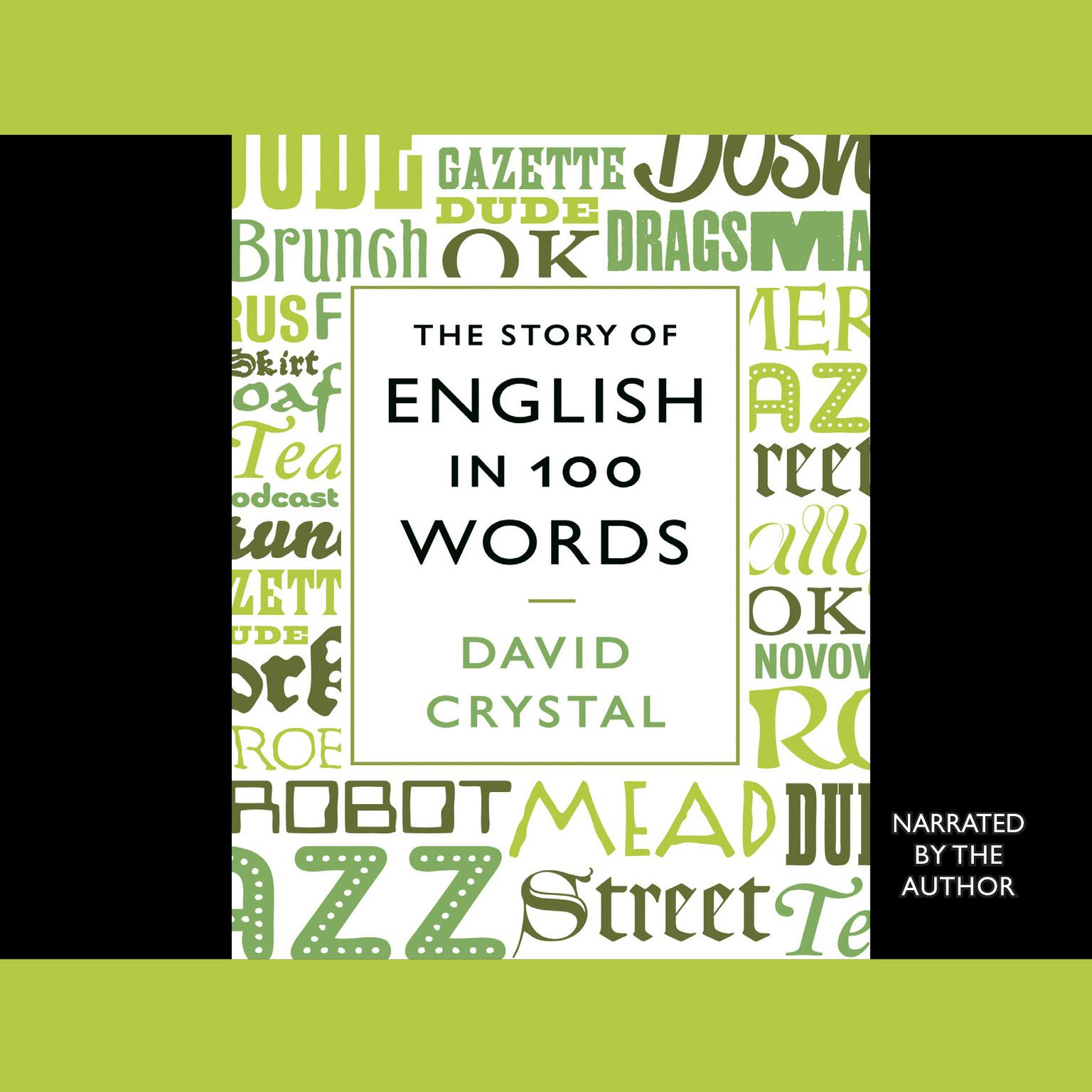 Printable The Story of English in 100 Words Audiobook Cover Art