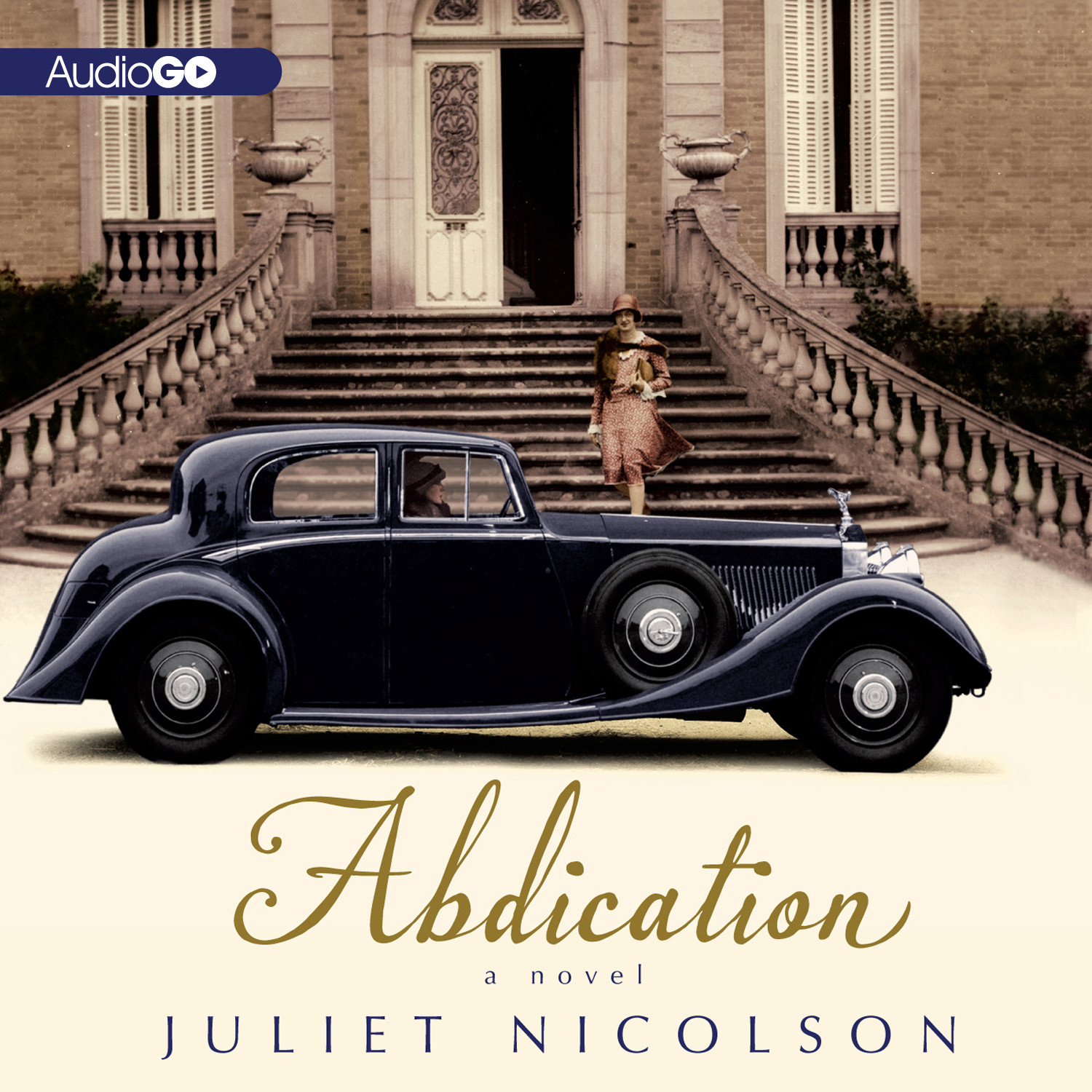 Printable Abdication: A Novel Audiobook Cover Art
