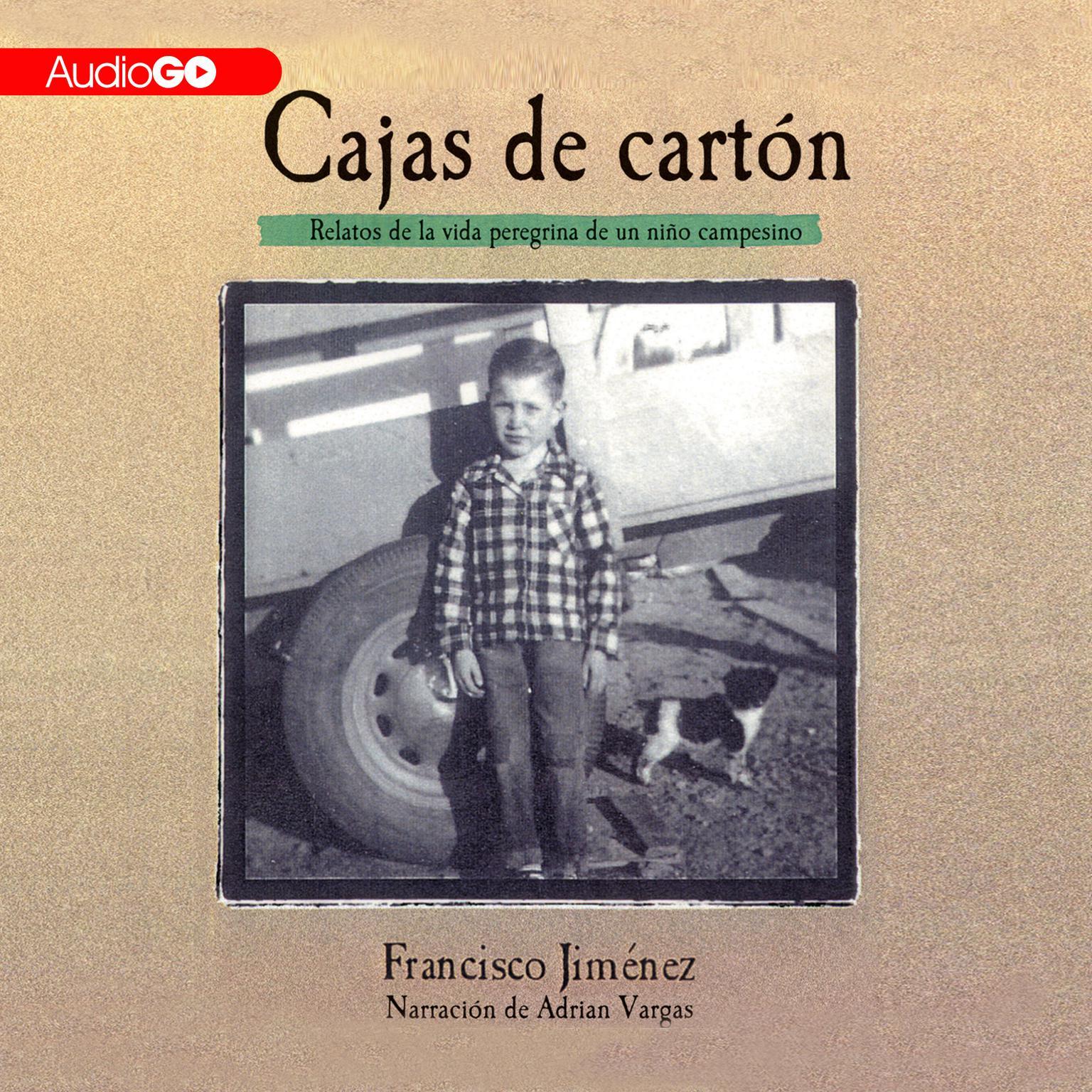Printable Cajas de Cartón: Relatos de la Vida Peregina de un Niño Campesino Audiobook Cover Art