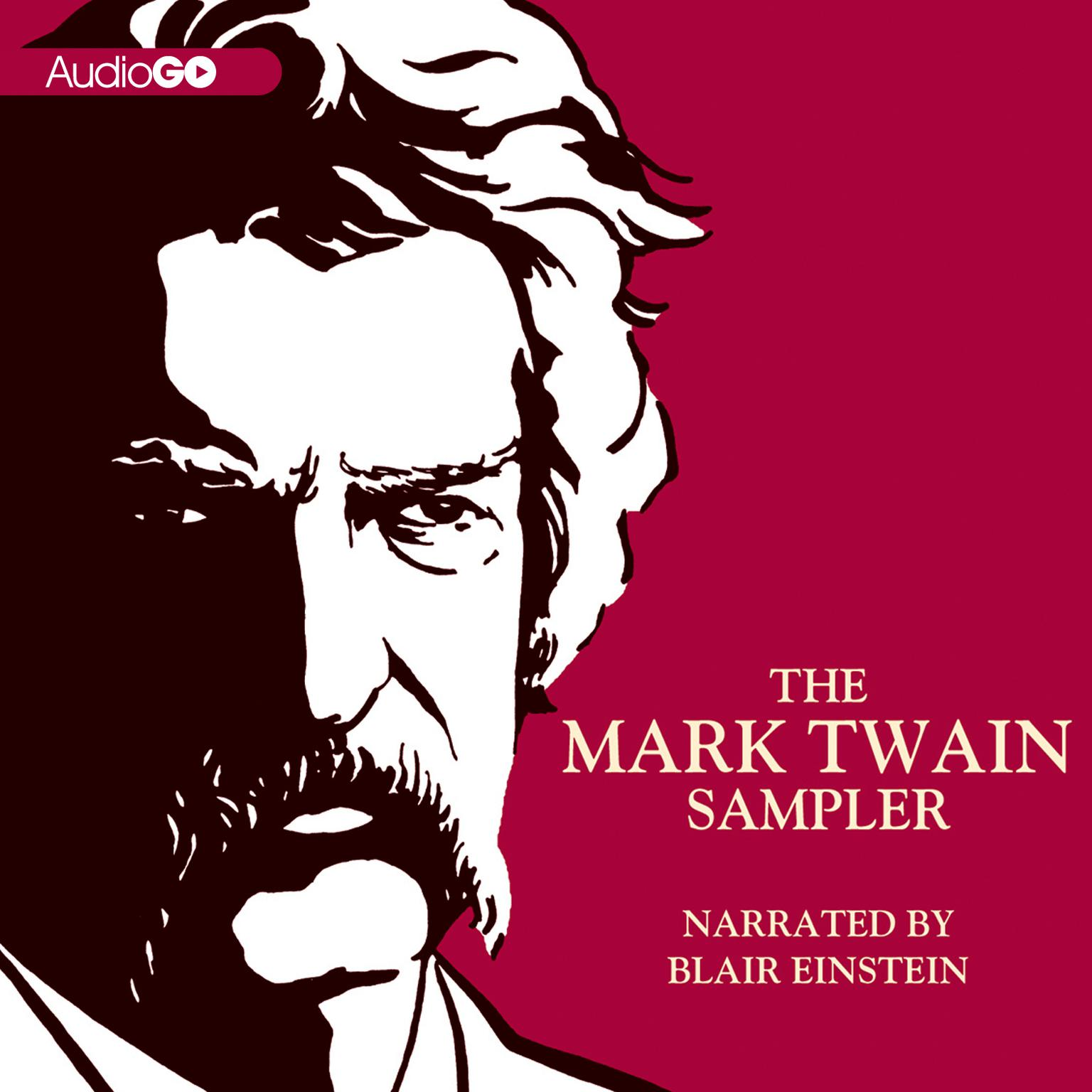Printable The Mark Twain Sampler Audiobook Cover Art