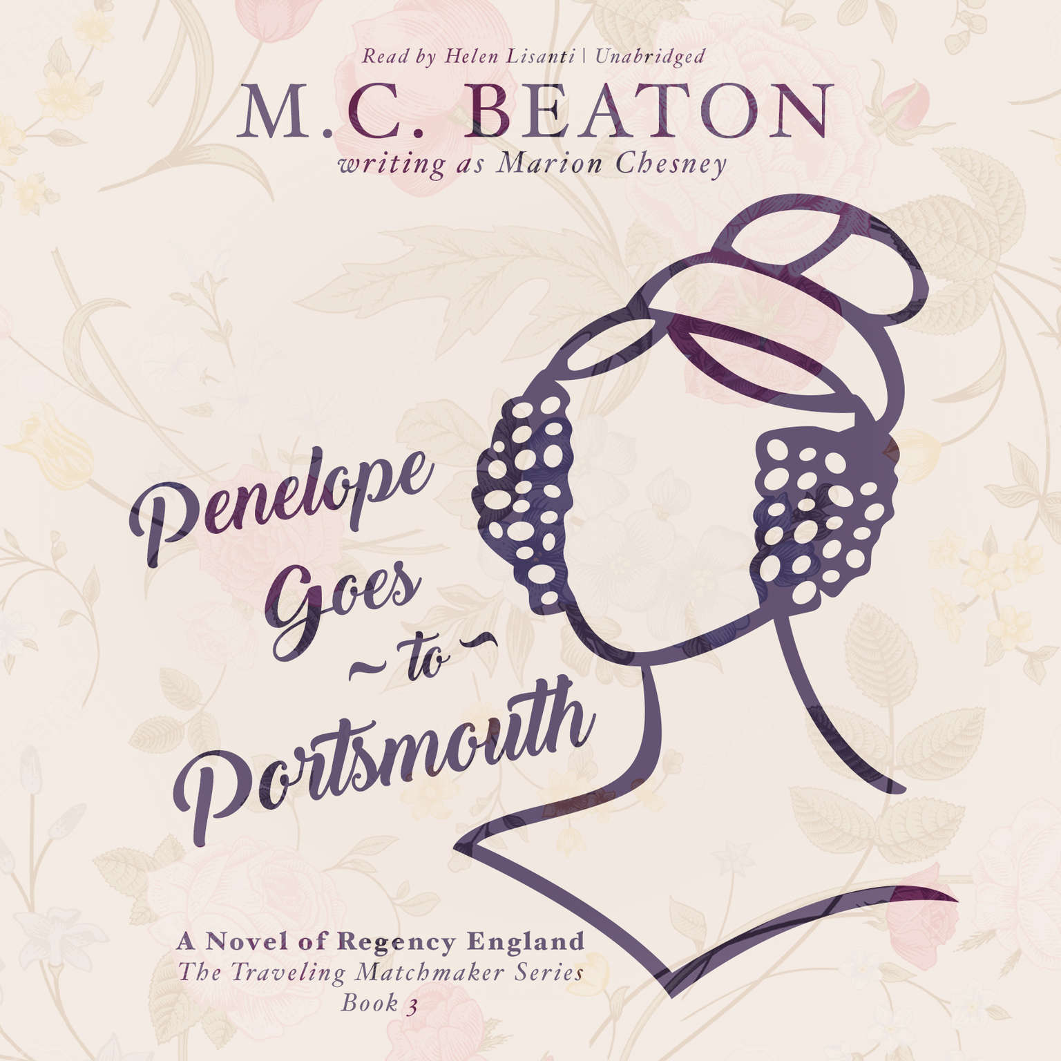 Printable Penelope Goes to Portsmouth: A Novel of Regency England Audiobook Cover Art