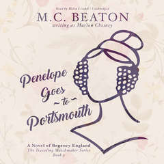 Penelope Goes to Portsmouth: A Novel of Regency England Audiobook, by M. C. Beaton