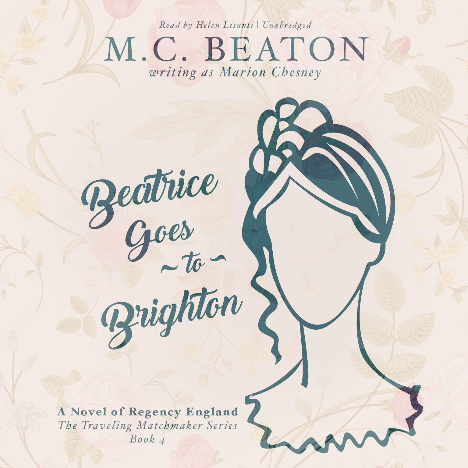 Printable Beatrice Goes to Brighton: A Novel of Regency England Audiobook Cover Art