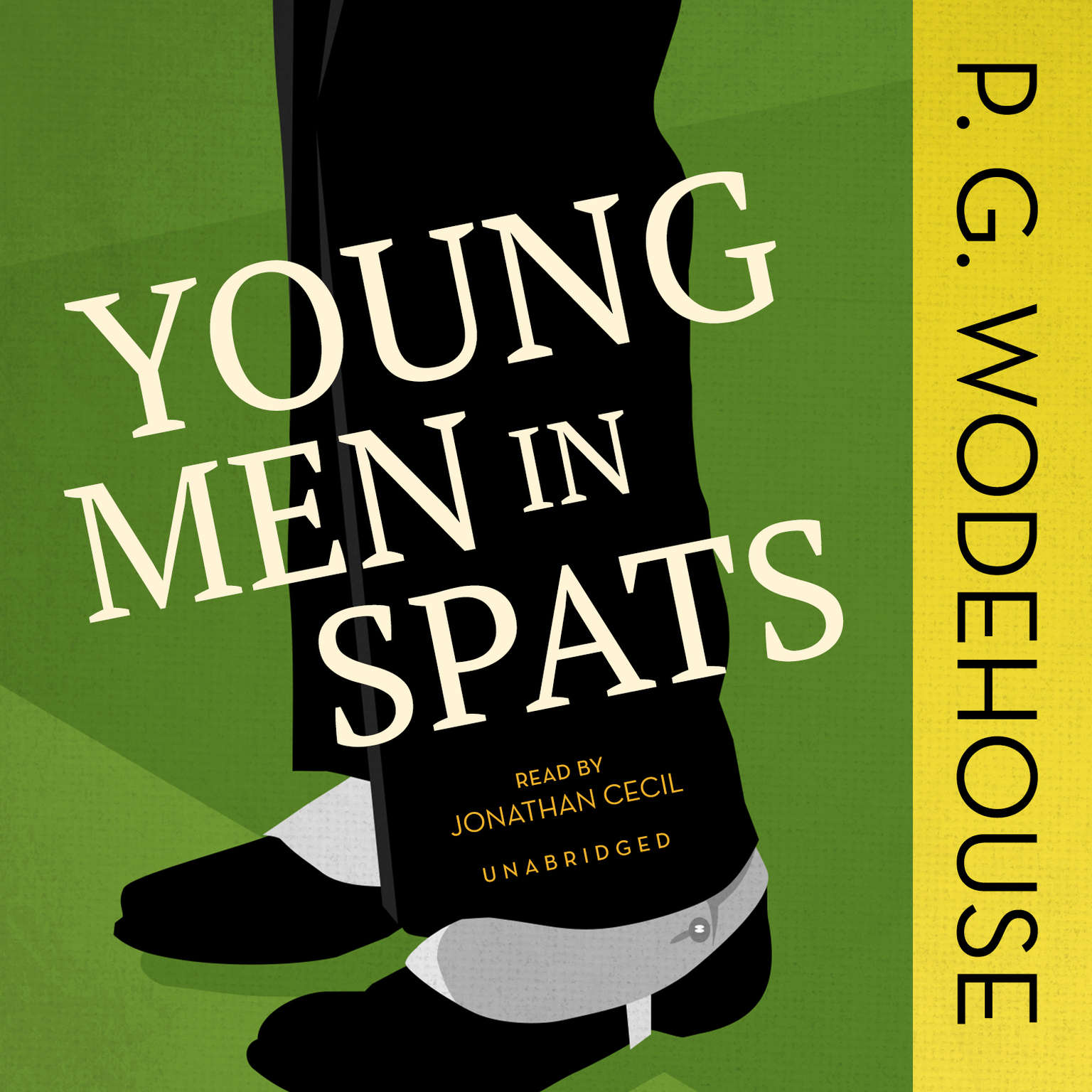 Printable Young Men in Spats Audiobook Cover Art