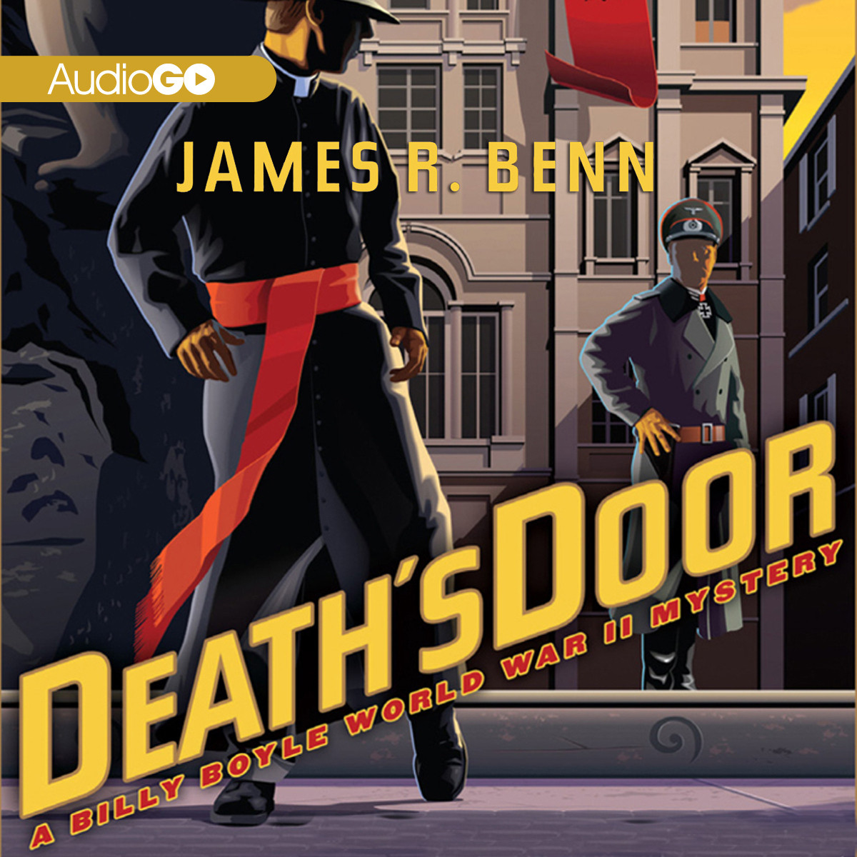 Printable Death's Door Audiobook Cover Art