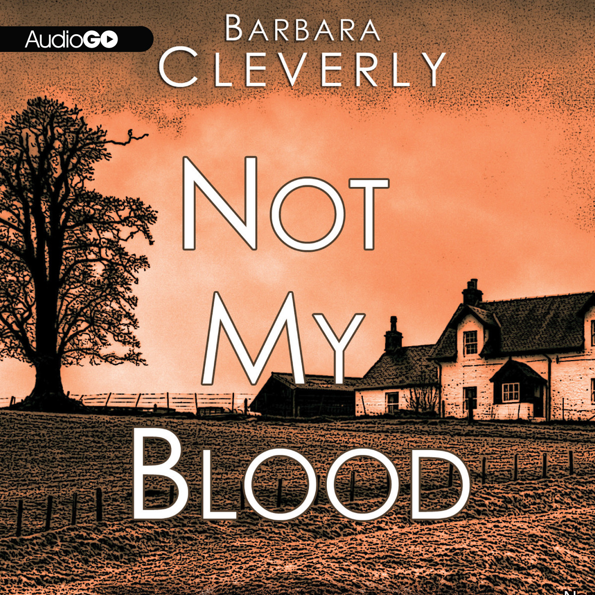 Printable Not My Blood Audiobook Cover Art