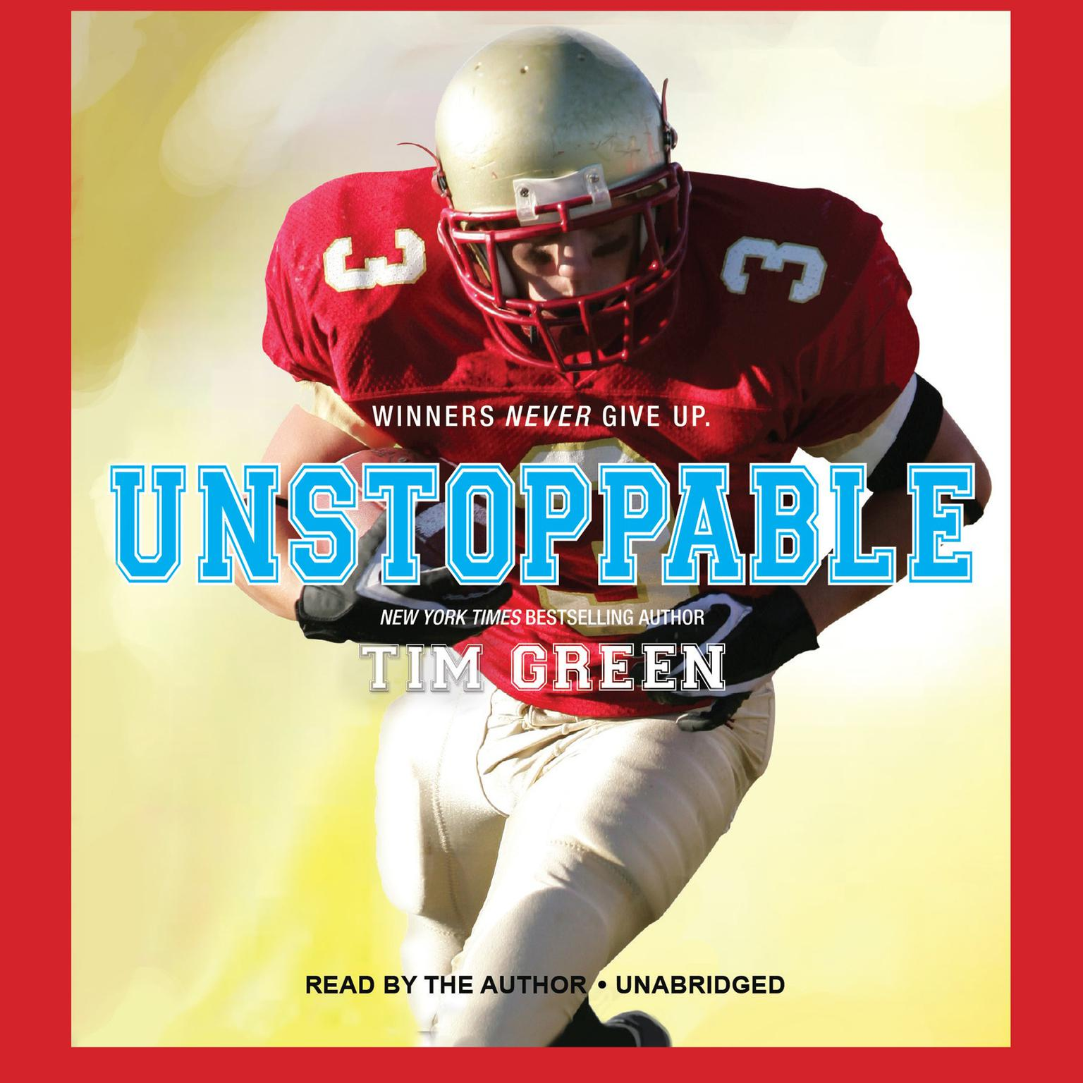 Printable Unstoppable Audiobook Cover Art