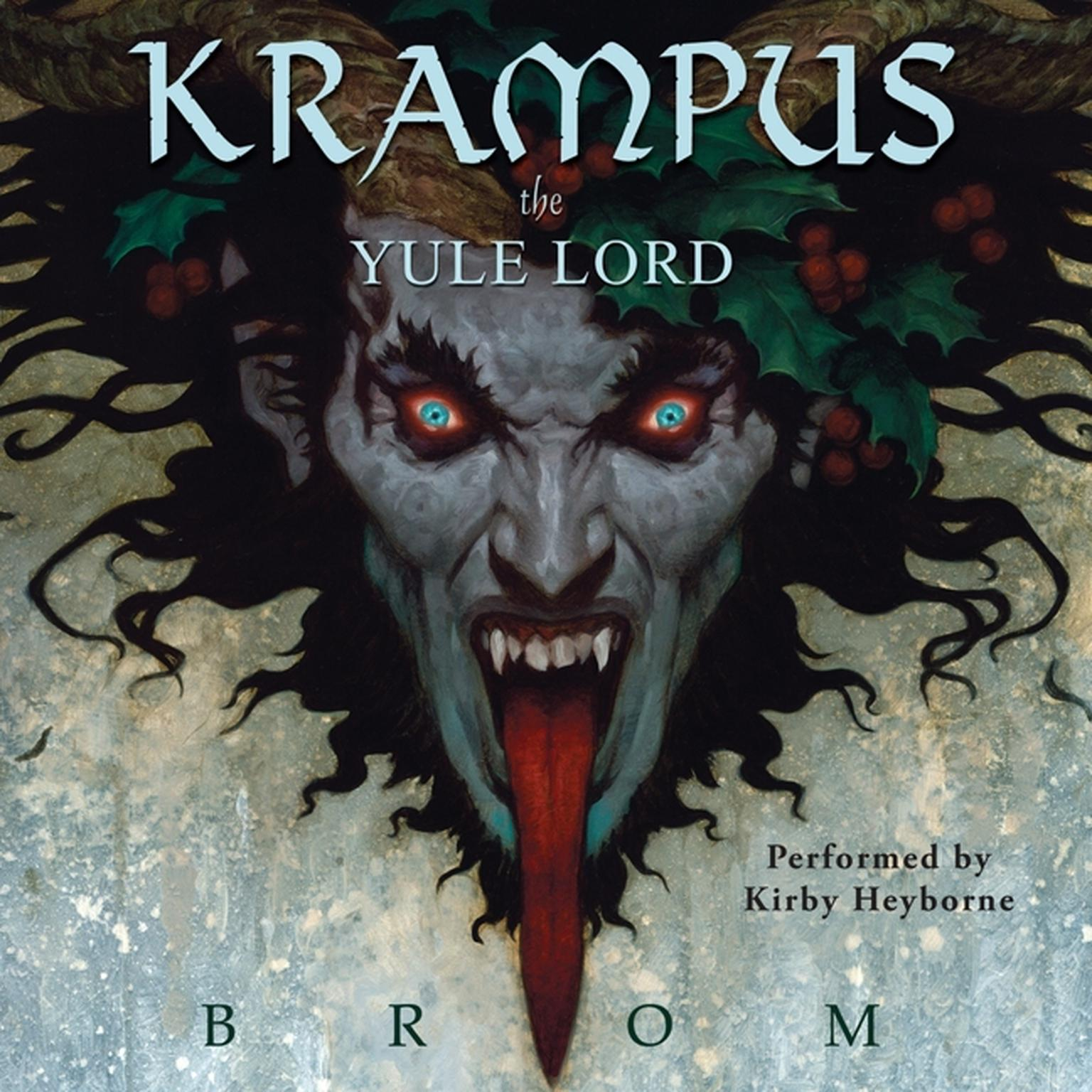 Printable Krampus: The Yule Lord Audiobook Cover Art