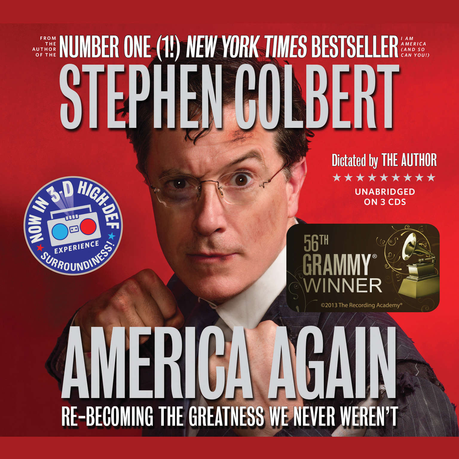 Printable America Again: Re-Becoming the Greatness We Never Weren't Audiobook Cover Art