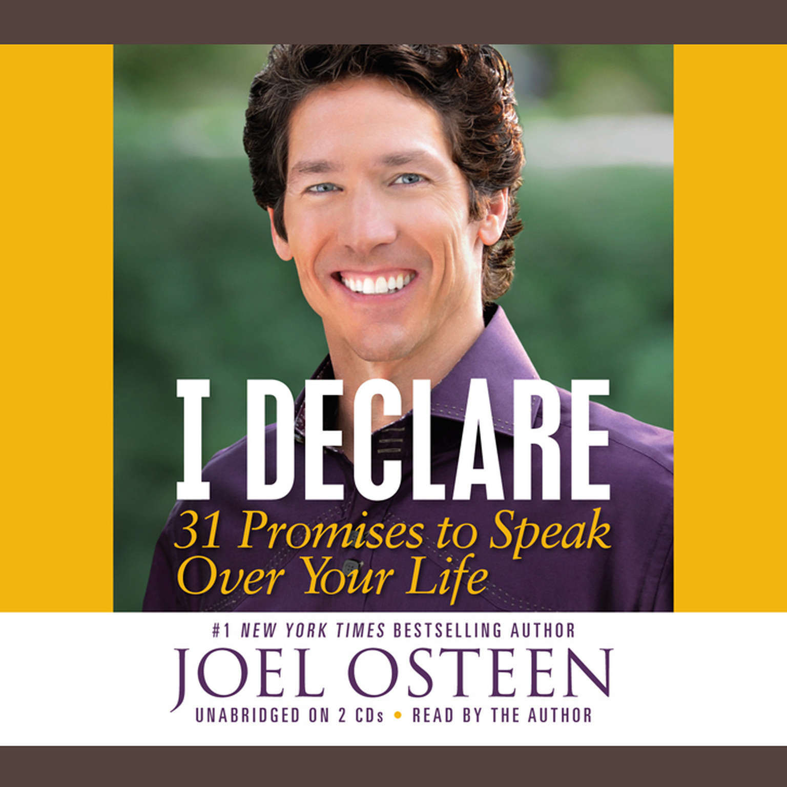 Joel Osteen I Declare 4 Cd set 31 promises to speak over your life Mint!!!
