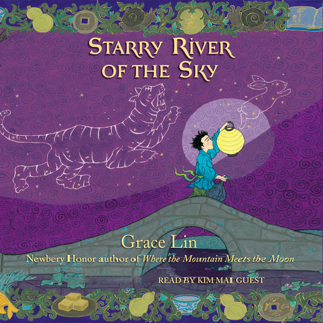 Printable Starry River of the Sky Audiobook Cover Art