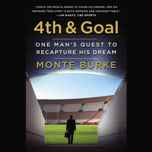 Printable 4th & Goal: One Man's Quest to Recapture His Dream Audiobook Cover Art