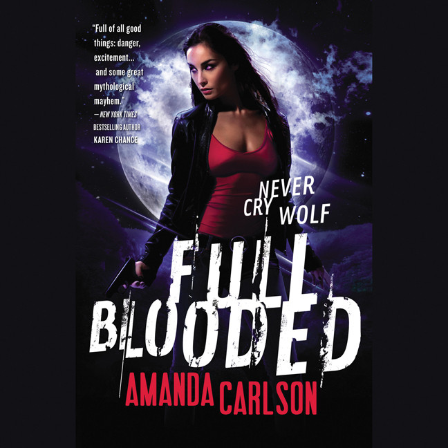 Printable Full Blooded Audiobook Cover Art