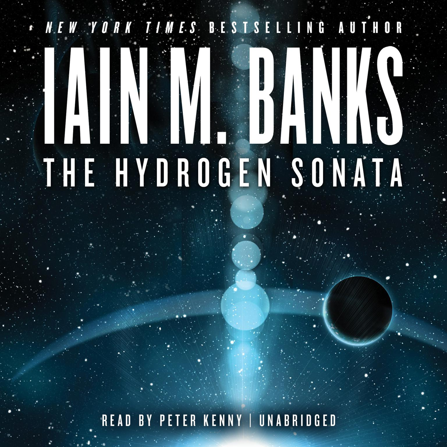 Printable The Hydrogen Sonata Audiobook Cover Art