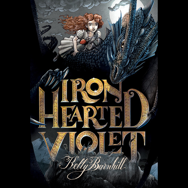 Printable Iron Hearted Violet Audiobook Cover Art