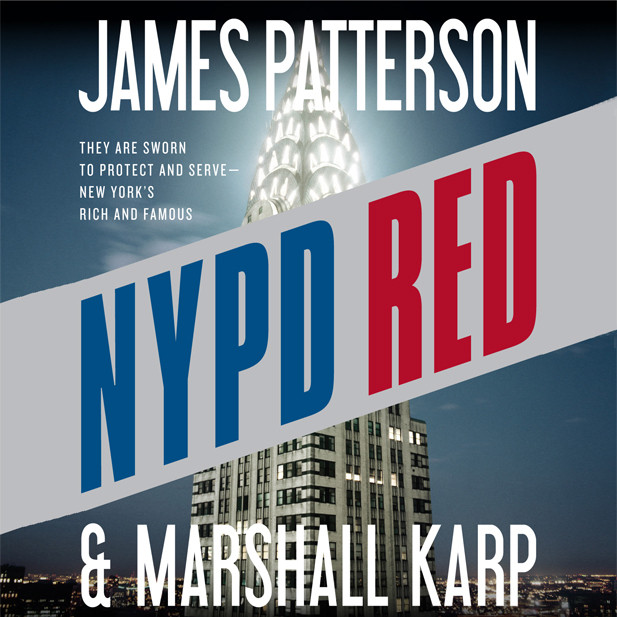 Printable NYPD Red Audiobook Cover Art
