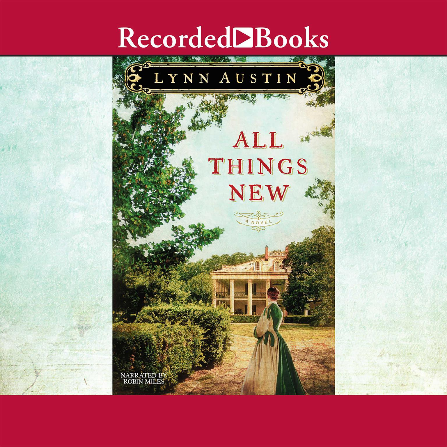 Printable All Things New Audiobook Cover Art