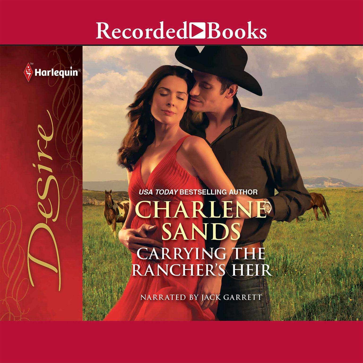 Printable Carrying the Rancher's Heir Audiobook Cover Art