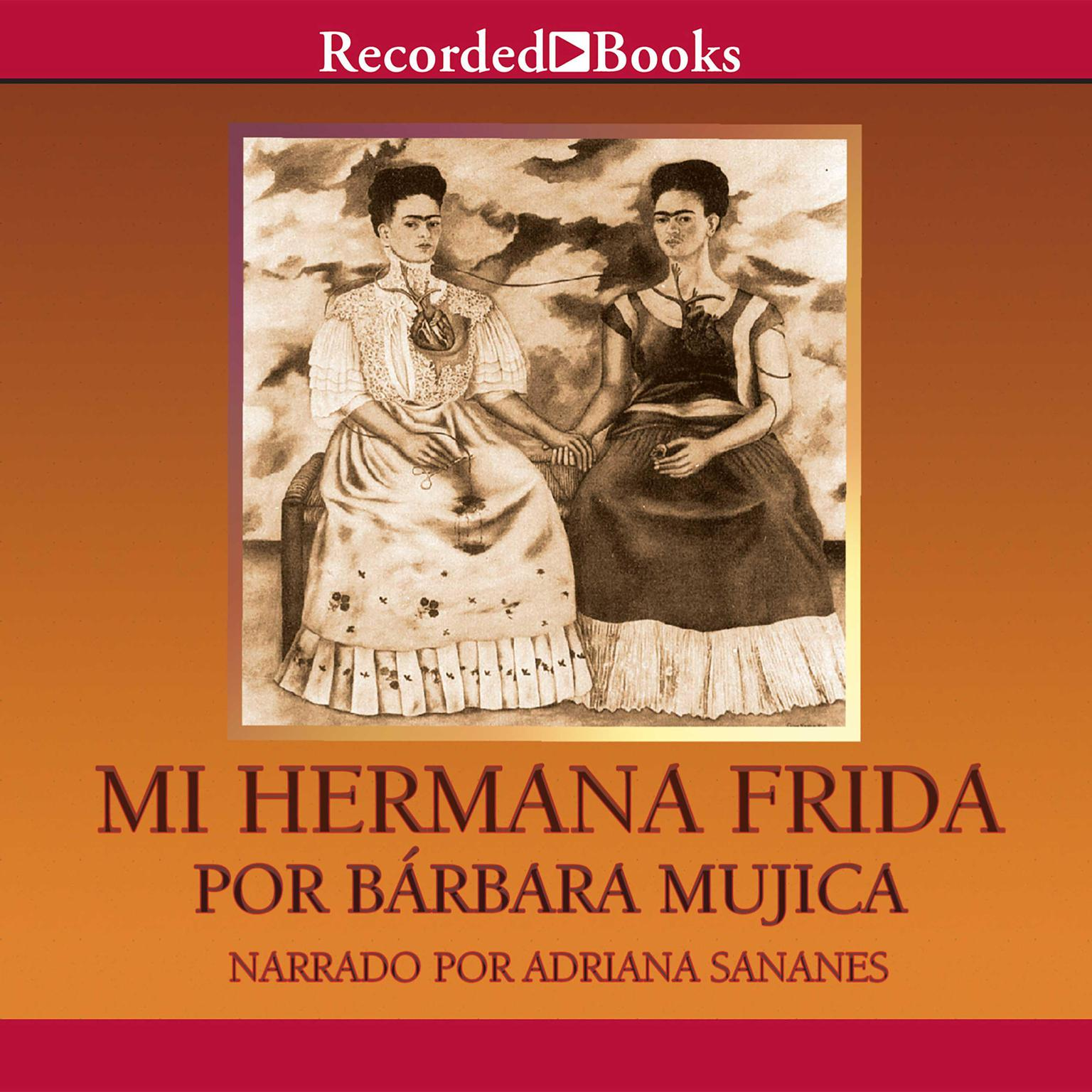 Printable Mi hermana Frida Audiobook Cover Art