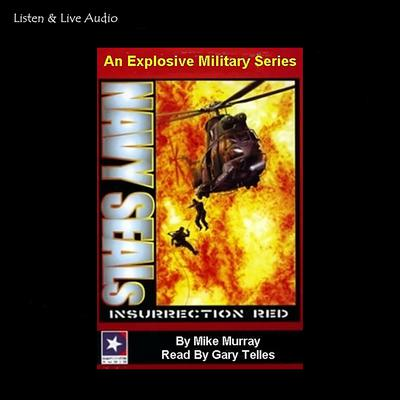Printable Insurrection Red Audiobook Cover Art