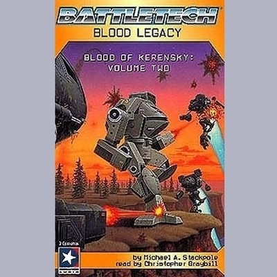 Printable Blood Legacy: Blood of Kerensky Trilogy, Book 2 Audiobook Cover Art