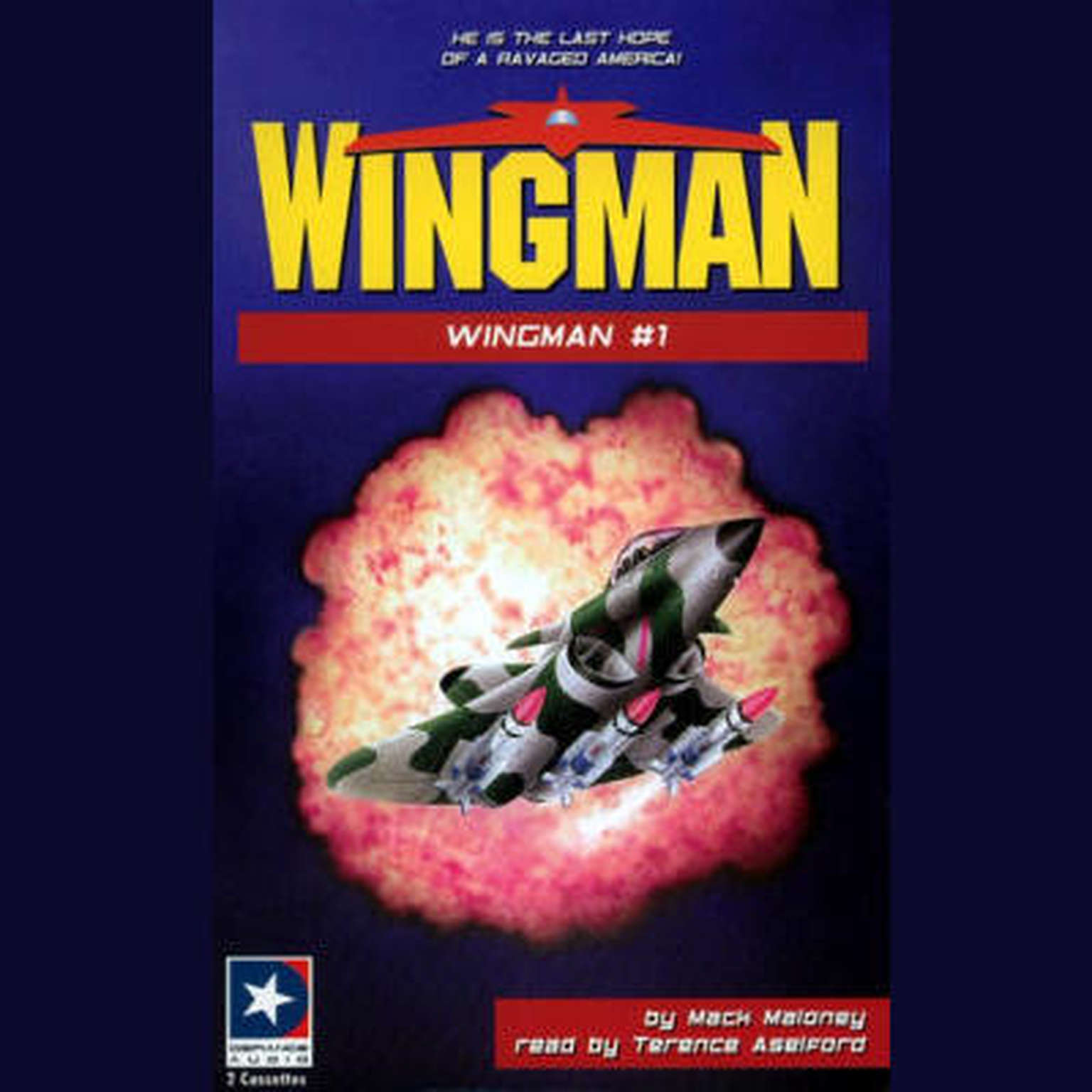 Printable Wingman Audiobook Cover Art