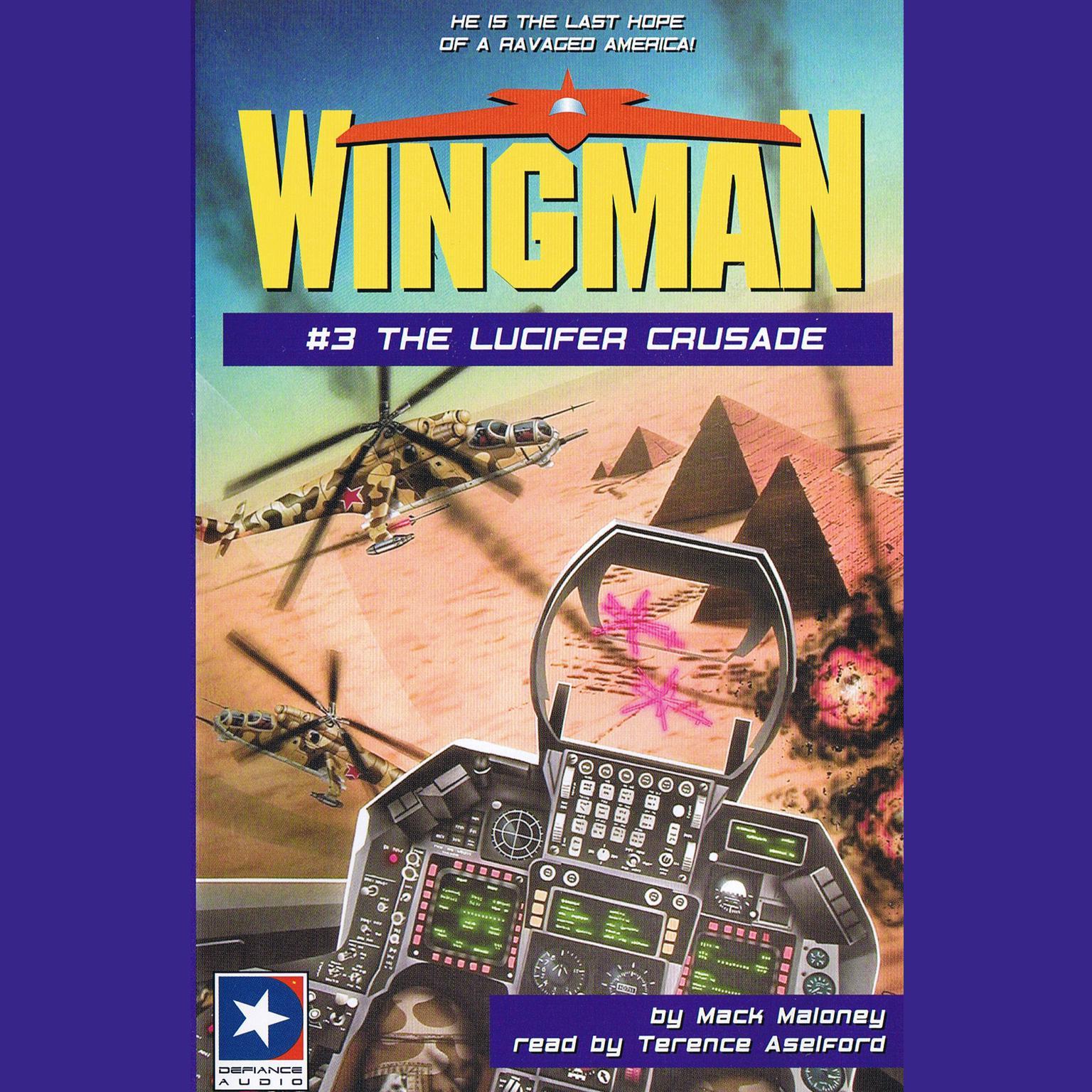 Printable The Lucifer Crusade Audiobook Cover Art