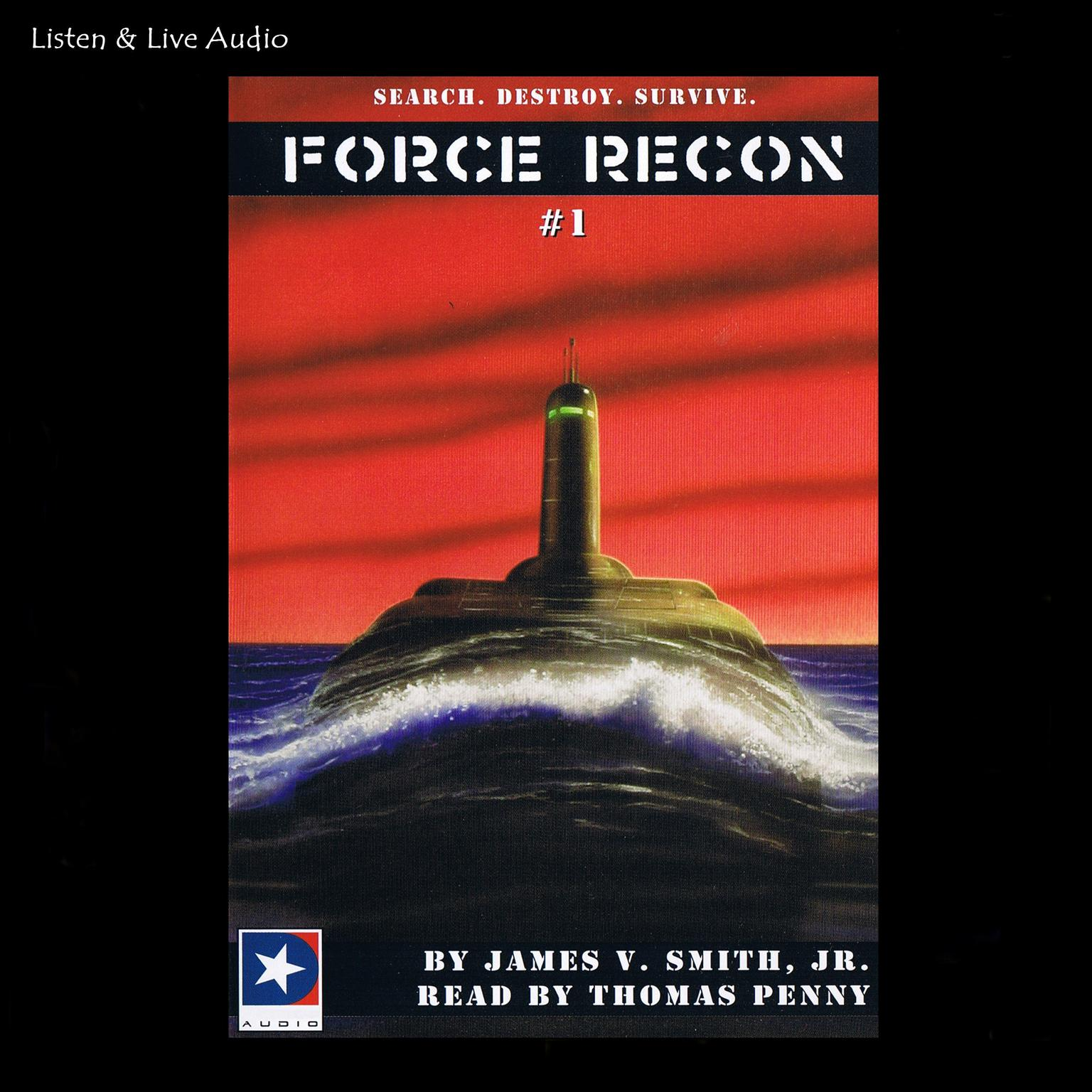 Printable Force Recon Audiobook Cover Art
