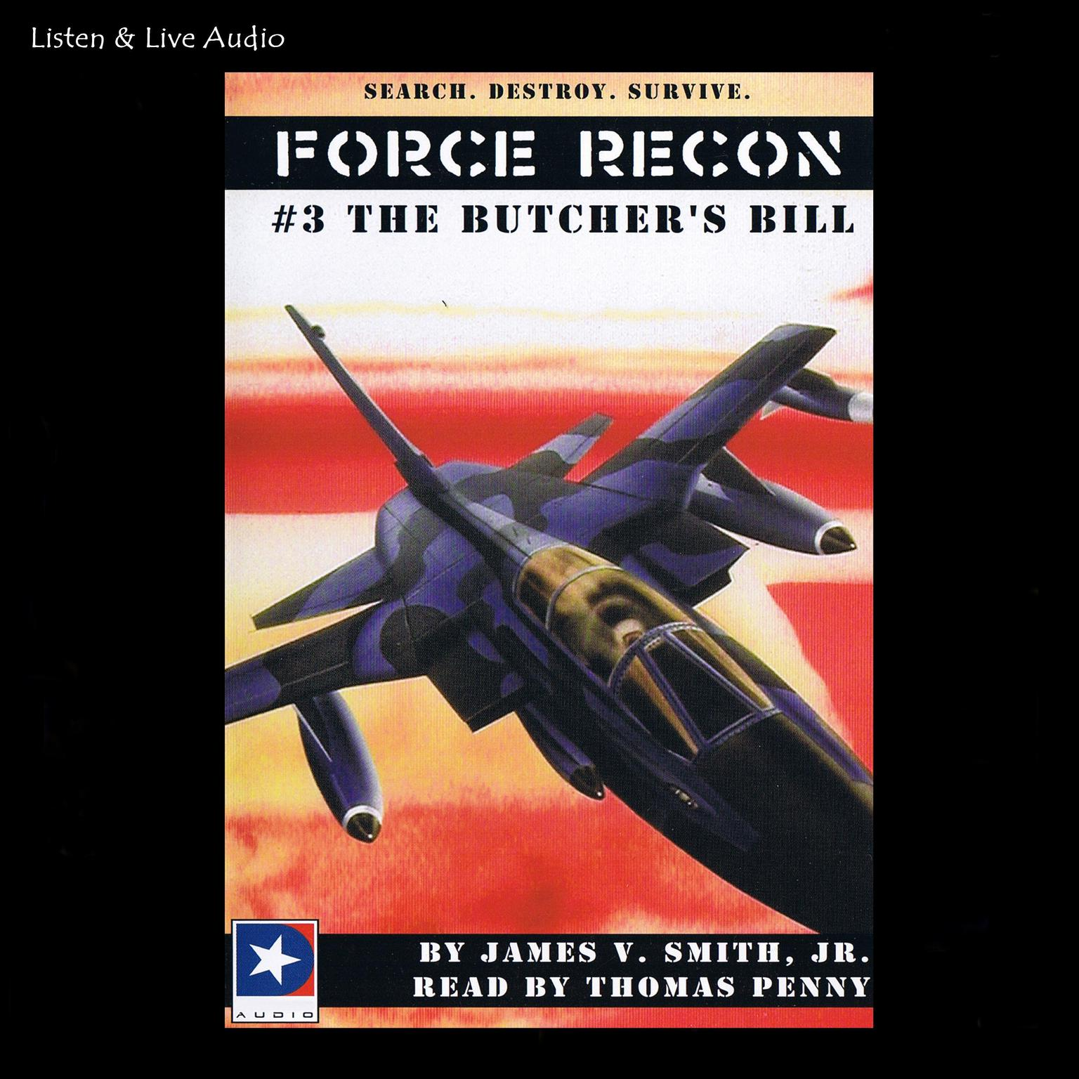 Printable The Butcher's Bill Audiobook Cover Art