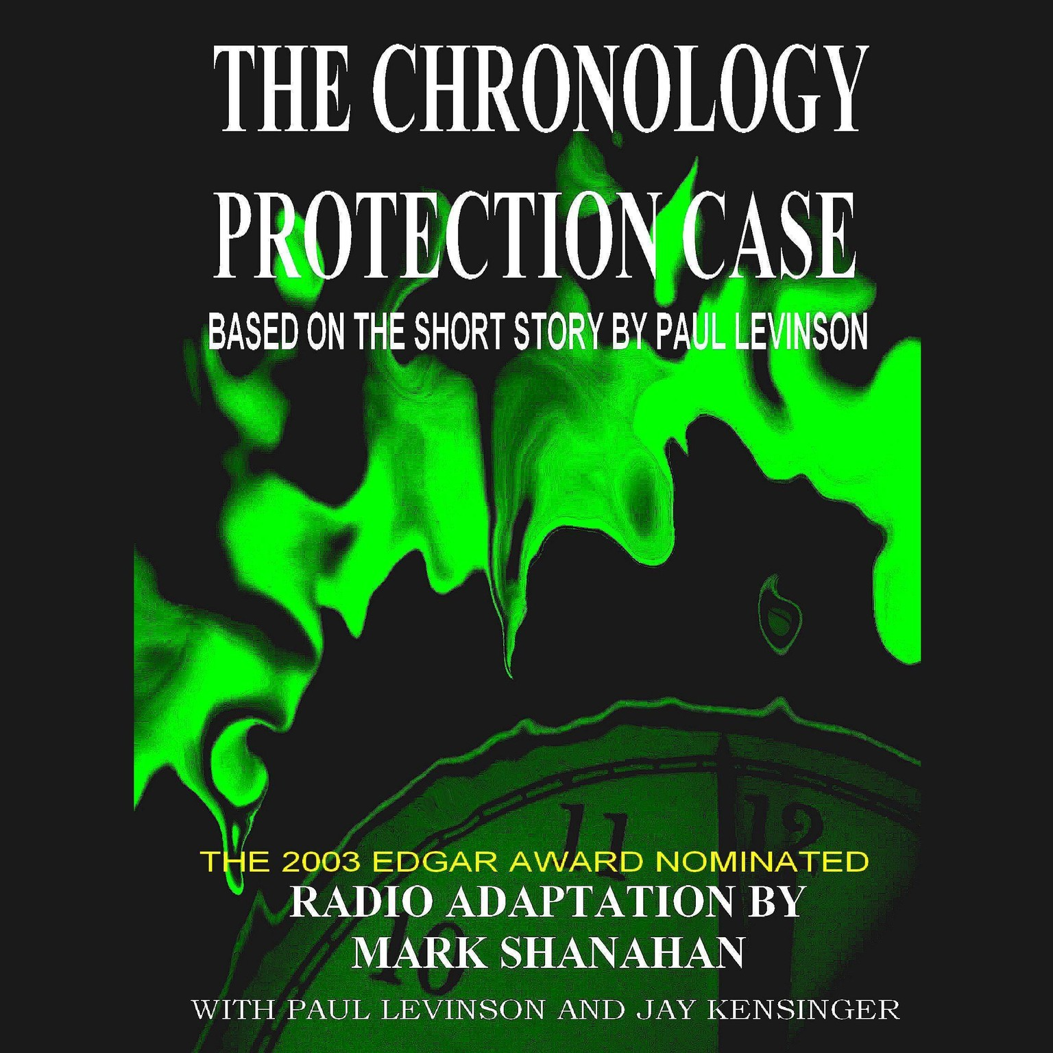 Printable The Chronology Protection Case Audiobook Cover Art