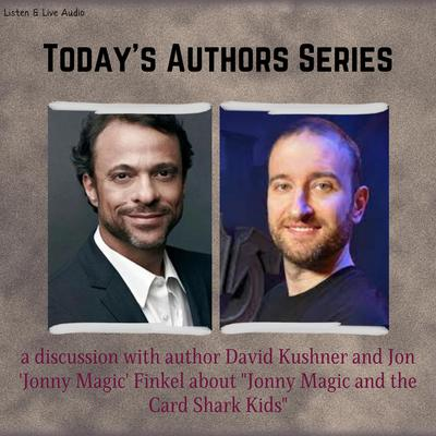 "Printable Today's Authors Series: A Q&A with David Kushner and Jon ""Jonny Magic"" Finkel Audiobook Cover Art"