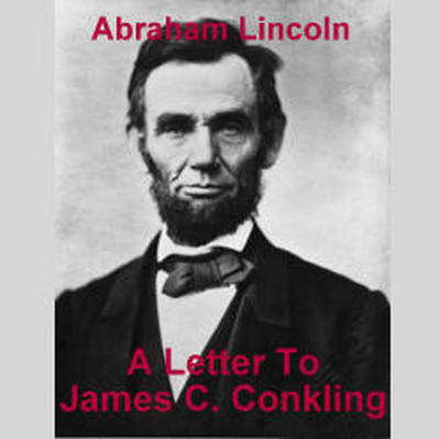 Printable Letter to James C. Conkling Audiobook Cover Art