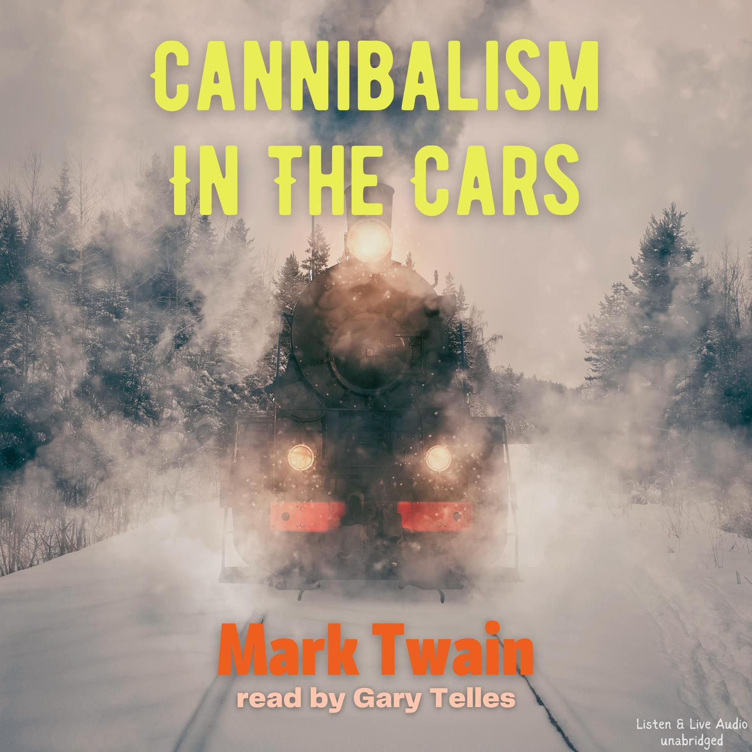 Printable Cannibalism in the Cars Audiobook Cover Art