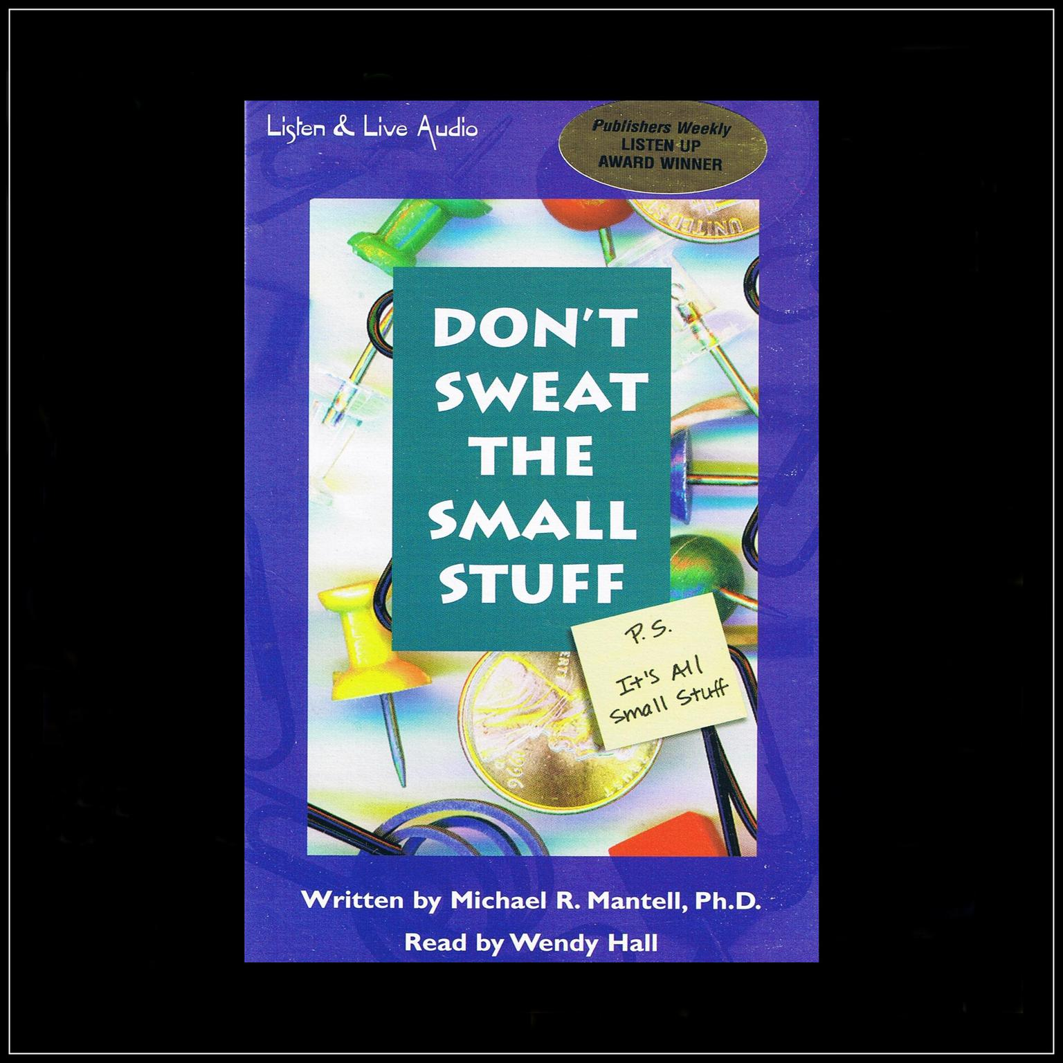 Printable Don't Sweat the Small Stuff: P.S. It's All Small Stuff Audiobook Cover Art